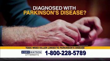 Cory Watson Law TV Spot, 'Parkinson's Disease' - Thumbnail 1
