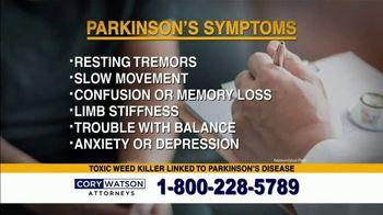 Cory Watson Law TV Spot, 'Parkinson's Disease' - Thumbnail 2