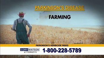 Cory Watson Law TV Spot, 'Parkinson's Disease' - Thumbnail 4