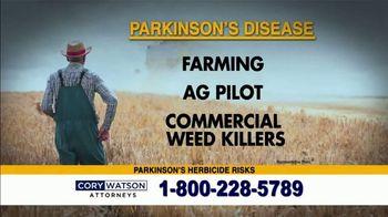 Cory Watson Law TV Spot, 'Parkinson's Disease' - Thumbnail 5