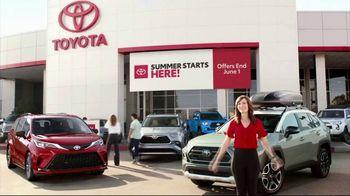 Toyota Summer Starts Here TV Spot, 'Summer Activities' [T2] - Thumbnail 7