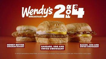 Wendy's 2 for $4 TV Spot, 'Desayuno bien hecho' [Spanish] - Thumbnail 9