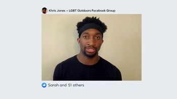 Facebook Groups TV Spot, 'LGBT Outdoors' - Thumbnail 4