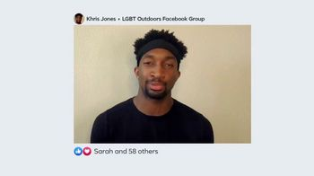 Facebook Groups TV Spot, 'LGBT Outdoors' - Thumbnail 5