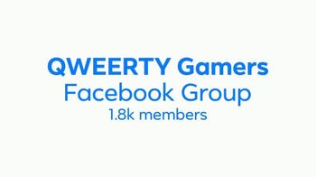 Facebook Groups TV Spot, 'QWEERTY Gamers'