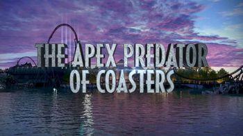 Universal Orlando Resort VelociCoaster TV Spot, 'Apex Predator of Coasters' - Thumbnail 7