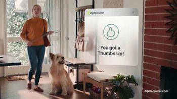 ZipRecruiter TV Spot, 'Job Search: Dog' - Thumbnail 6