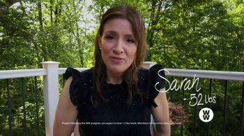 WW TV Spot, 'Goodbye Hello: Sarah: Three Months Free' - Thumbnail 2