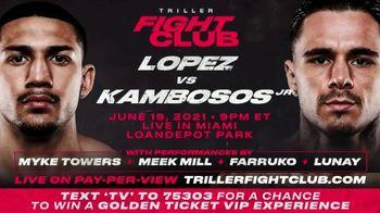 Triller Fight Club TV Spot, 'Bringing Boxing Back: Lopez v. Kambosos Jr.' Featuring Snoop Dogg - Thumbnail 7