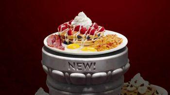 Denny's Red, White & Blue Pancakes TV Spot, 'Spotlight Stack: Tastes Like Freedom'