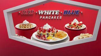 Denny's Red, White & Blue Pancakes TV Spot, 'Spotlight Stack: Tastes Like Freedom' - Thumbnail 7