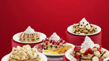 Denny's Red, White & Blue Pancakes TV Spot, 'Spotlight Stack: Tastes Like Freedom' - Thumbnail 1