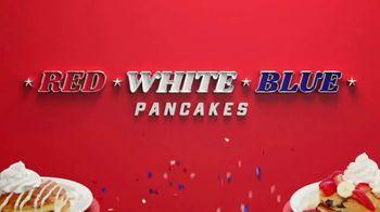 Denny's Red, White & Blue Pancakes TV Spot, 'Spotlight Stack: Tastes Like Freedom' - Thumbnail 5