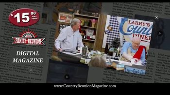 Country's Family Reunion Digital Magazine TV Spot, 'All About Lyrics: Stay Connected'