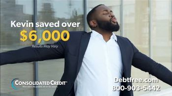 Consolidated Credit Counseling Services TV Spot, 'Kevin's Debt Relief' - Thumbnail 5
