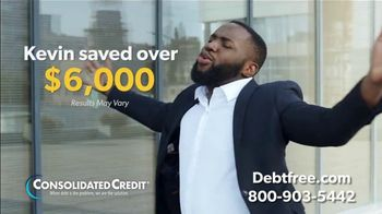 Consolidated Credit Counseling Services TV Spot, 'Kevin's Debt Relief' - Thumbnail 6