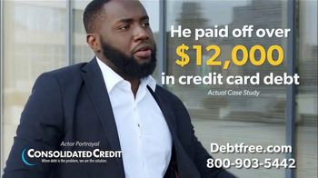 Consolidated Credit Counseling Services TV Spot, 'Kevin's Debt Relief'