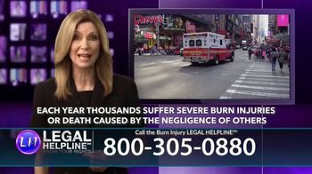 Legal Help Line TV Spot, 'Burn Injury' - Thumbnail 3