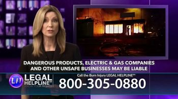 Legal Help Line TV Spot, 'Burn Injury' - Thumbnail 6
