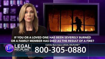Legal Help Line TV Spot, 'Burn Injury' - Thumbnail 7