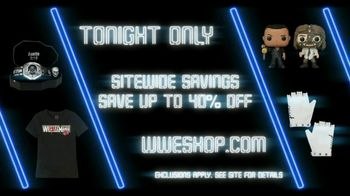 WWE Shop TV Spot, 'Dance Like No One Is Watching: 40% Off Sitewide' Song by Yez Yez