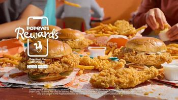 Popeyes Sandwiches n' More Pack TV Spot, 'Shook: Rewards' - Thumbnail 7
