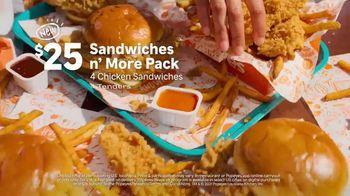 Popeyes Sandwiches n' More Pack TV Spot, 'Shook: Rewards' - Thumbnail 5