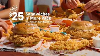 Popeyes Sandwiches n' More Pack TV Spot, 'Shook: Rewards' - Thumbnail 6