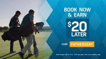 GolfNow.com TV Spot, 'Celebrate With Dad and Save: Earn $20' - Thumbnail 3