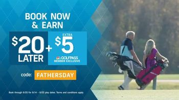 GolfNow.com TV Spot, 'Celebrate With Dad and Save: Earn $20' - Thumbnail 4
