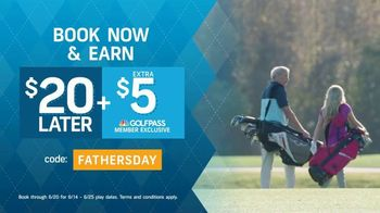GolfNow.com TV Spot, 'Celebrate With Dad and Save: Earn $20' - Thumbnail 5