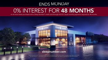 Sleep Number Summer Sale TV Spot, 'Save $500 and Financing for 48 Months' - Thumbnail 10