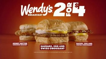 Wendy's 2 For $4 TV Spot, 'A Better Breakfast' - Thumbnail 8