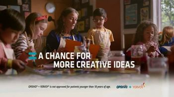 Opdivo + Yervoy TV Spot, 'A Chance for More Sparks' - Thumbnail 5
