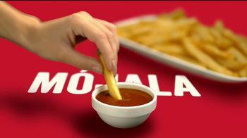 Tajín Mild TV Spot, 'El sabor inigualable de Tajín en salsa para pizza, papas fritas y alitas' [Spanish]