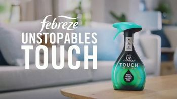 Febreze Unstopables Touch TV Spot, 'Welcome Home to Fresh' - Thumbnail 2