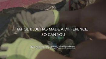 Tahoe Blue Vodka TV Spot, '$100,000 Donation to Clean Up the Lake' - Thumbnail 9