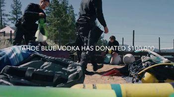 Tahoe Blue Vodka TV Spot, '$100,000 Donation to Clean Up the Lake' - Thumbnail 4
