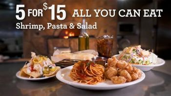 Johnny Carino's Italian 5 for $15 TV Spot, 'All You Can Eat: Dozen Wings'