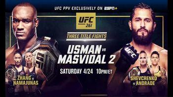 ESPN+ TV Spot, 'UFC 261: Usman vs. Masvidal 2'