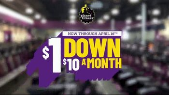 Planet Fitness TV Spot, 'Extended: $1 Down, $10 a Month, No Commitment' - Thumbnail 2