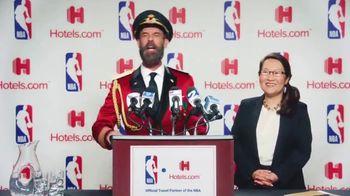 Hotels.com TV Spot, 'NBA Press Conference' - Thumbnail 5