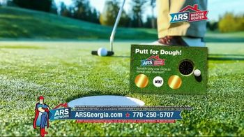 ARS Rescue Rooter TV Spot, 'Putt for Dough Time'