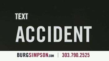 Burg Simpson TV Spot, 'Text, Drugs or Alcohol' - Thumbnail 2