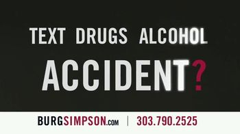 Burg Simpson TV Spot, 'Text, Drugs or Alcohol' - Thumbnail 4