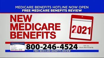 Medicare Benefits Hotline TV Spot, '2021 New Medicare Benefits'