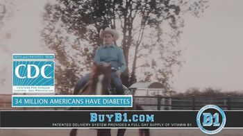 B1 Sport Performance & Wellness Patch TV Spot, 'Fight Back Against Diabetes and Pre-Diabetes' - Thumbnail 1