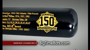 Big Time Bats TV Spot, 'Braves' 150th Anniversary Bat' - Thumbnail 2