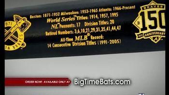 Big Time Bats TV Spot, 'Braves' 150th Anniversary Bat' - Thumbnail 6