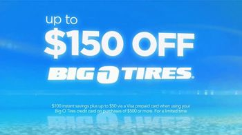 Big O Tires Spring Super Sale TV Spot, 'Up to $150 Off' - Thumbnail 4